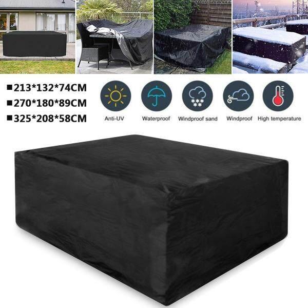 213*132*74 Sizes Waterproof Outdoor Patio Garden Furniture Covers Rain Snow Chair covers for Sofa Table Chair Dust Proof Cover