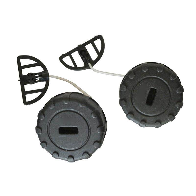 2Pcs Fuel Caps For Stihl 017 018 MS170 MS180 Chainsaw 11303500500 Replace  Parts