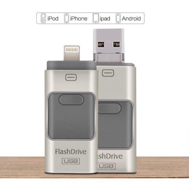 Bảng giá ♥Hàng Có Sẵn + FREE +♥COD♥Tốc Độ Nhanh iPhone OTG Android IOS USB 3 Trong 1 Khi Di Chuyển Pendrive Bộ Nhớ Ngoài Phong Vũ