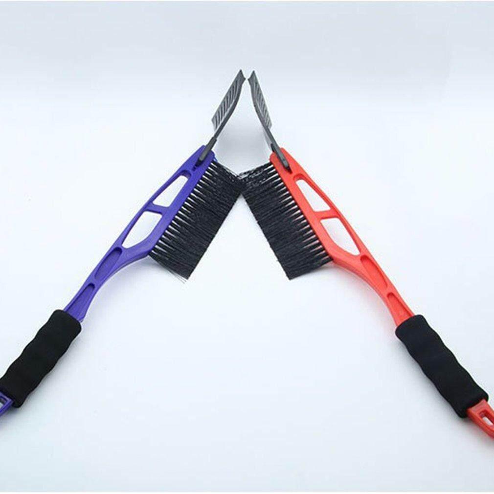 Hot Sales 2-in-1 Multifunction Ice Scraper EVA Handle Snow Shovel Brush for Auto Car