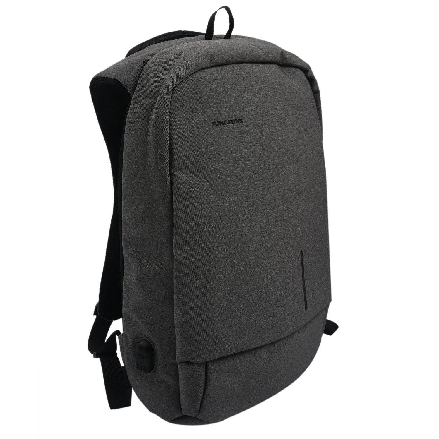 7eb4e3ff4a Kingsons Anti-Theft Backpack USB and charging port Fashion Anti-Rain Laptop    Tablet
