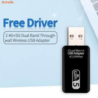 [Tenda] WD-4601AC Bộ Chuyển Đổi Card Mạng Wifi USB 1200M Dongle Không Dây Băng Tần Kép 2.4G 5G Dành Cho Máy Tính Để Bàn thumbnail