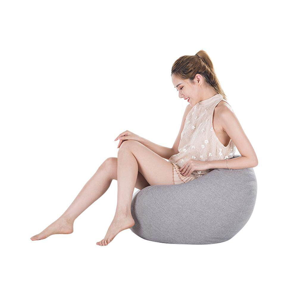 YANYI Toy Storage Bean Bag Solid Color Chair Sofa Cover Large Beanbag(Filling is not Included) 60 X 75cm