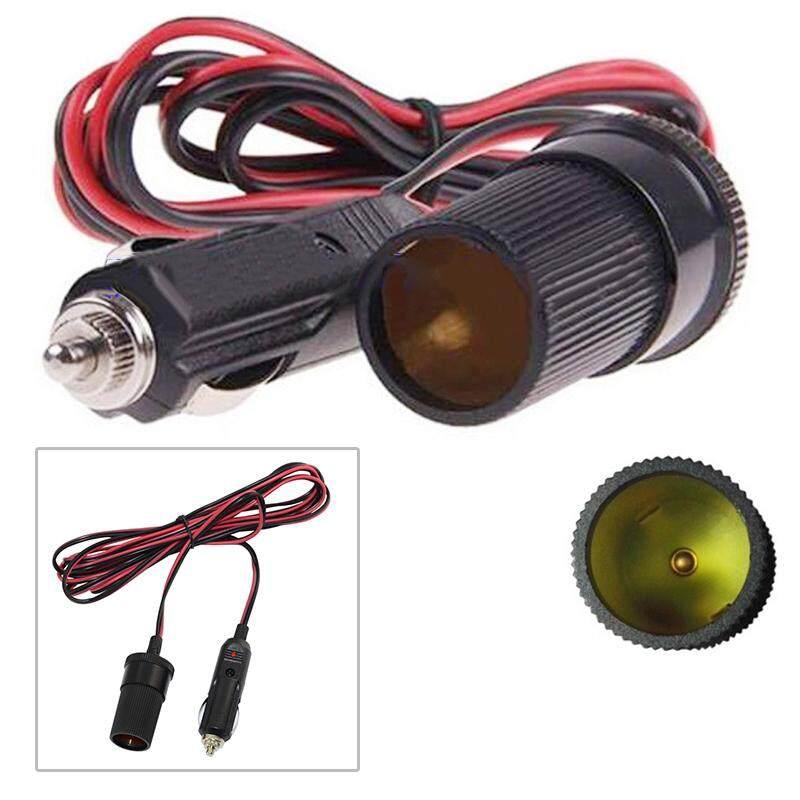 ToolStar Car 12V Lighter Plug Socket Extension Cable Power Extension Cord 3A