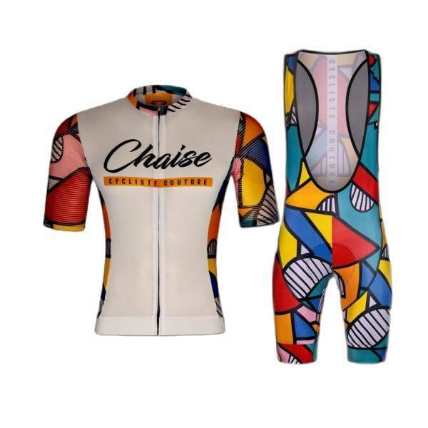 Mua Chaise Bộ Áo Thi Đấu Đội Chuyên Nghiệp Trang Phục Đạp Xe Cho Nam Bộ Áo Ngắn Tay Đồng Phục Đua Xe Đạp Mùa Hè Ropa Ciclismo Hombre