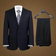 【In stock】Jacket + áo vest + áo sơ mi + quần Hai Ba Bốn Miếng Phù Hợp Với Bộ Đồ nam Phù Hợp nam Tự canh tác Kinh Doanh Chuyên Nghiệp Đầm Váy Cưới