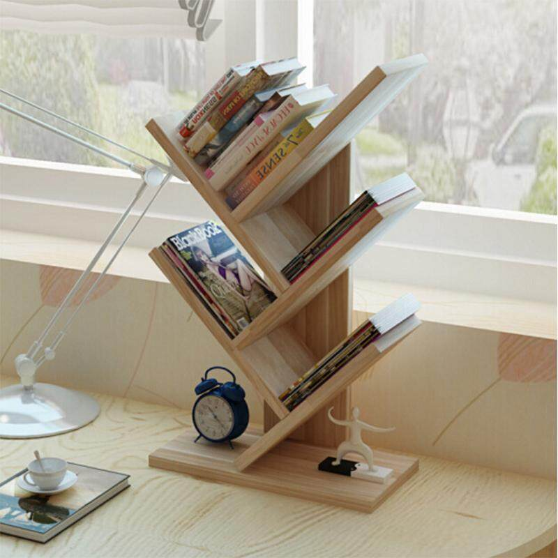 Bookshelf Bookcase Book Rack On the Table By Olive Al Home