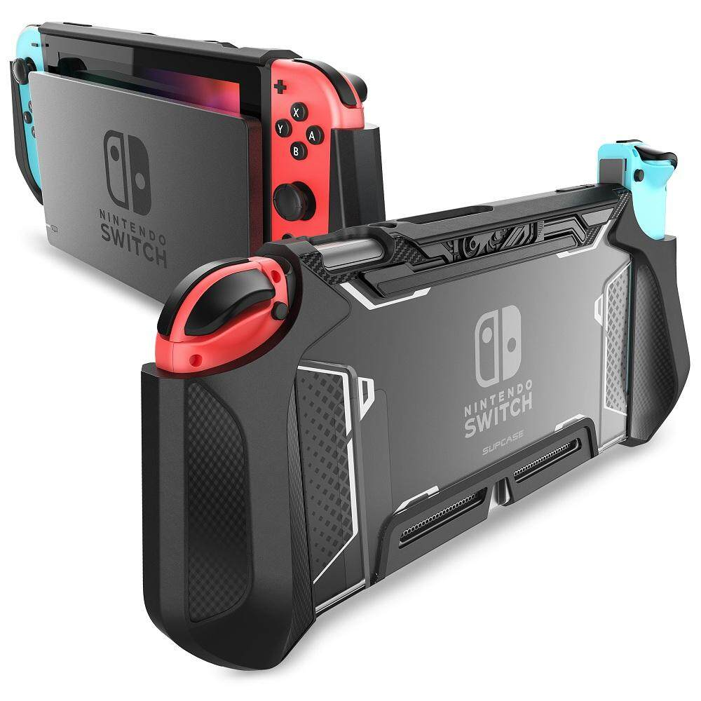 Dockable Case for Nintendo Switch SUPCASE TPU Grip Protective Cover Case  Compatible with Nintendo Switch Console and Joy-Con Controller