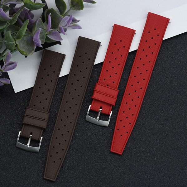 Premium-Grade Tropic Fluorine Rubber Watch Strap 20mm 22mm For Seiko SRP777J1 New Quick Release Spring Bar Watch Band Bracelet Malaysia