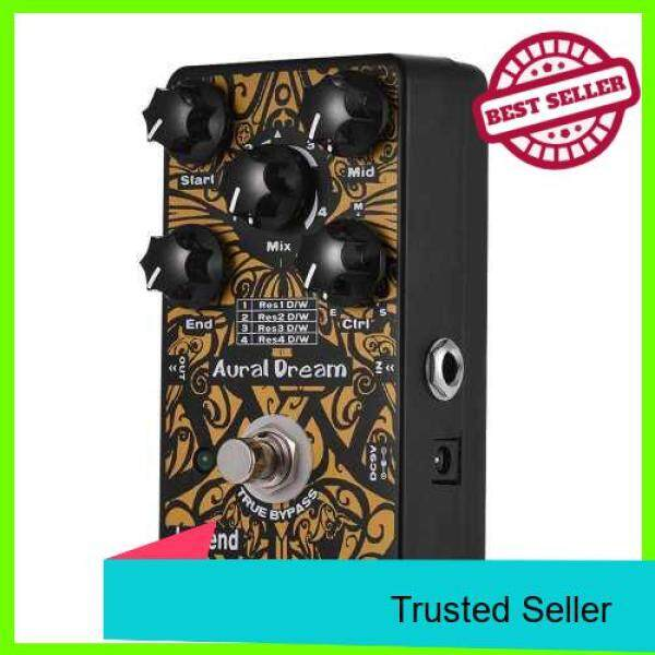Legend Formant Synthesizer Guitar Effect Pedal 4 Resonance Modes Aluminum Alloy Shell True Bypass (Black) Malaysia