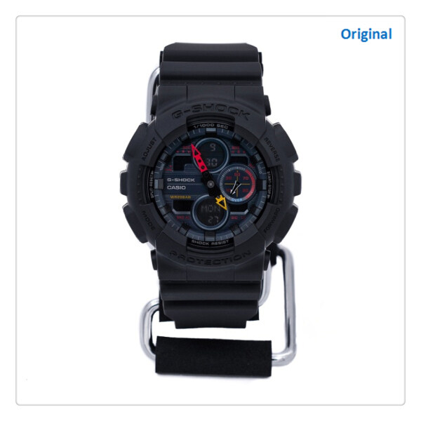 (hot) Orignal G Shock GA140-7APR Digital 200m WaterpoorSport watch for men 200M Water Resistant Shockproof and Waterproof World Time LED Auto Light Wist Sports Watches with 2 Year Warranty Malaysia