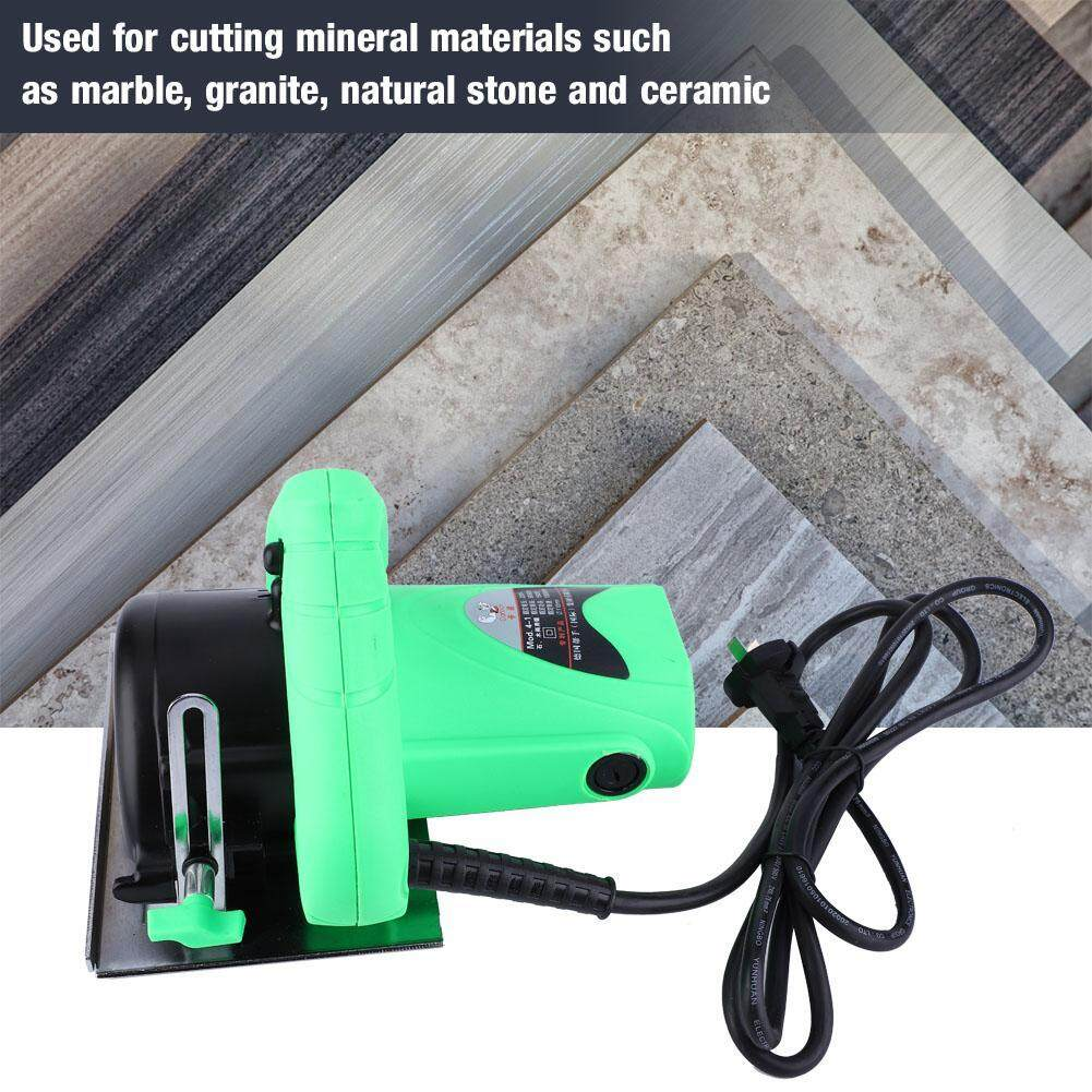High Power Cutting Machine Slotting Grooving Electric Cutter Saw for Wood /Stone 220V CN Plug