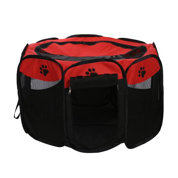 Có thể gập lại di động có thể gập lại chống thấm nước cho thú cưng Cỡ mở Oxford Air Mesh Playpen và bút tập thể dục Lều Nhà chơi cho chó và mèo Kích thước nhỏ