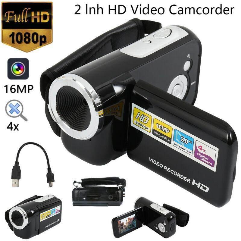 Máy Ảnh kỹ thuật số Full HD 1080 P Chuyên Nghiệp Zoom Camera Quay Phim Video 32 GB