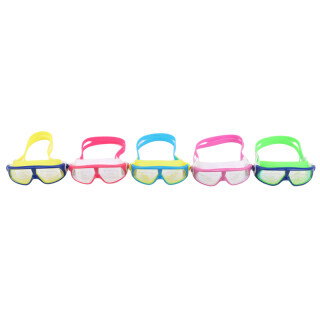 Children HD Large Frame Waterproof Anti-fog Electroplated Swimming Goggles thumbnail