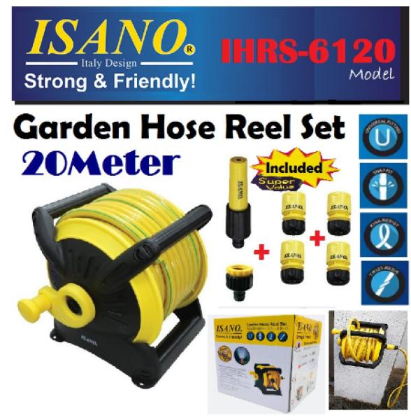 ISANO GARDEN HOSE REEL SET (IHRS-6120) - 20Meter