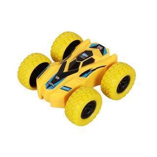 Xe địa hình đồ chơi có thể chạy cả 2 mặt trượt lật theo quán tính dành cho trẻ em (kích thước 7.5 7 3cm) - INTL thumbnail