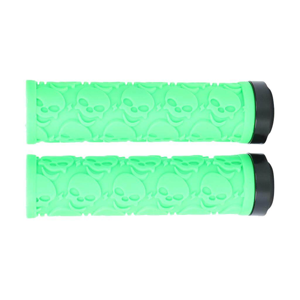 DYNWAVE 1 Pair Bike Bicycle MTB Handlebar Soft Rubber Bar Grip Covers Nonslip