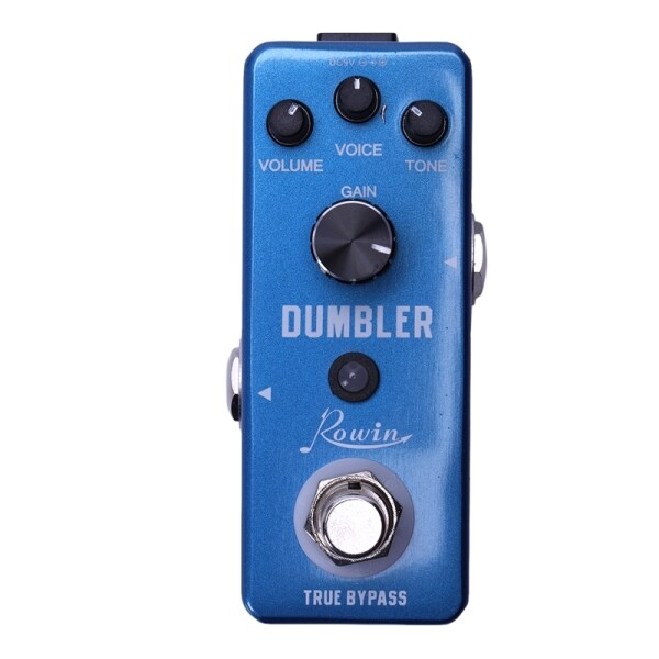 Rowin LEF-315 Analog Dumbler Guitar Effect Pedal,Provide You With Sound Ranging From A Tasty Light Overdrive To A Juicy Medium Low Distortion Malaysia