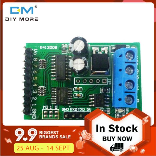 [100% original] diymore 8CH DC 5V 12V 24V RS485 RS232 (TTL) Modbus RTU Control Module UART for Relay Switch Board PLC