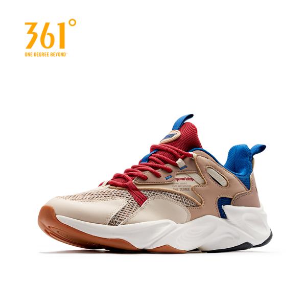 Giày sneaker thể thao nam phối màu đơn giản thanh lịch chất liệu cao cấp 361 Degree giá rẻ