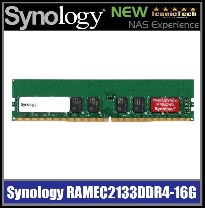 Synology RAMEC2133DDR4-16GB (100% Genuine Brand New Original Retail Malaysia Set)