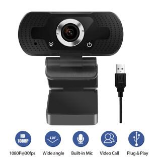 Webcam USB HD 1080P, Micrô Tích Hợp, Cắm Và Chơi Hội Nghị Skype Dành Cho Máy Tính Xách Tay PC Phát Trực Tiếp thumbnail
