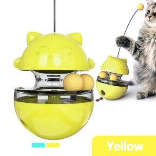 3 Trong 1 Đồ Chơi Cho Mèo Bóng Theo Dõi Điều Trị Vật Định Lượng Thức Ăn Tương Tác Vui Dụ Mèo Stick Puppy Chậm Thức Ăn Đào Tạo Đồ Chơi IQ thumbnail