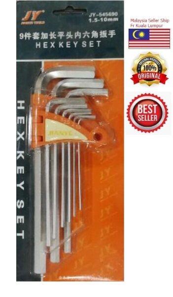 JY METRIC HEX KEY SET ALLEN KEY SET 1.5-10mm (NEW)