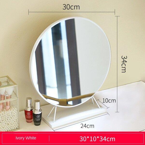 Gương Mỹ Phẩm Gương Trang Điểm Lớn Jingyi Loại Đèn Led Lấp Đầy Ánh Sáng Dresser Gương Máy Tính Để Bàn Net Red Beauty Trang Điểm Gương Gương Với Bóng Đèn