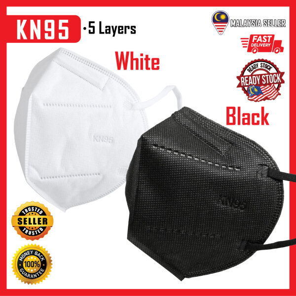 KN95 Face Mask (Pelitup Muka)  >95% ** Smooth Breathing ** PM 2.5 ** Ready Stock **