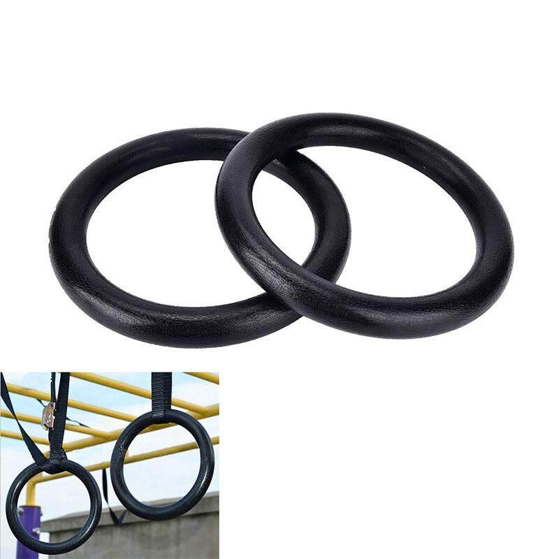 Bảng giá CHUNCHEN 2pcs ABS rings Portable Crossfit Gymnastics Rings Gym Fitness Training Equipment