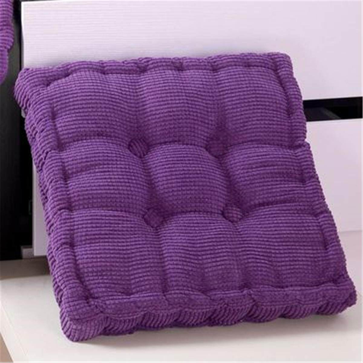 Chair Pad Seat Cushion Thick Corduroy Cushion Pad Seat Chair Patio Car Office 3yue
