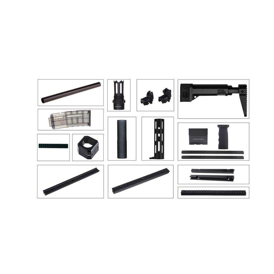 Ubest Worker FCZ-W004A AC Mod Kits Set for Nerf N-Strike Elite Toy Gun Accessories