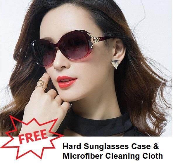 7df40fee27b4 Polarized UV Sunglasses Fashion Sunglasses Women Sunglasses Polarized UV400  HD Sunglasses Lady Fashion Sunglasses Clear Vision