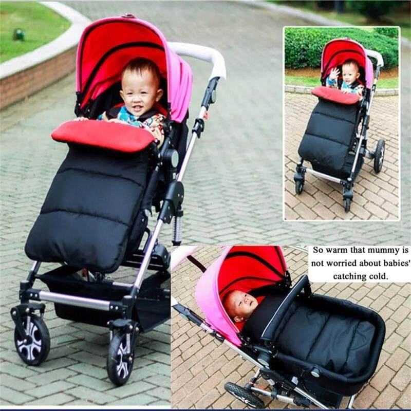 1* New Keep Warm Soft Outdoor Strollers Mat Windproof Foot Cover Infant Sleeping Bag Singapore