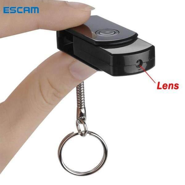 Máy Quay Mini ESCAM 1080P HD U3, Máy Quay Phim Mini DV USB Với Khe Cắm Thẻ TF (Phiên Bản DVR), camera mini,camera siêu nhỏ
