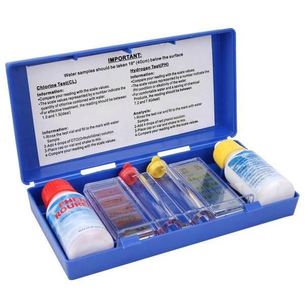 PH Chlorine Water Quality Test Kit Swimming Pool Tester Water Testing Box