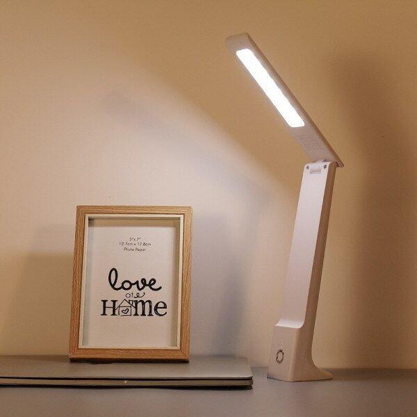 Bảng giá Đèn LED Để Bàn Sạc USB Có Thể Gập Lại Đèn Đọc Sách Mờ Sáng Tạo Bảo Vệ Mắt