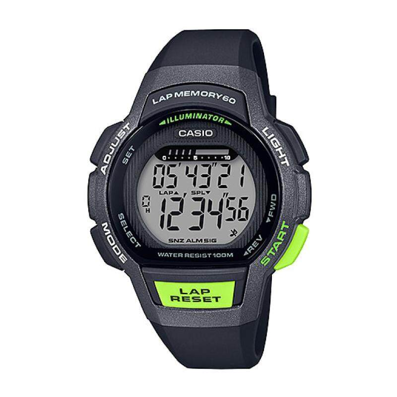 2019 Casio Womens Quartz Black Resin Band Running Watch LWS1000H-1A LWS-1000H-1A (watch for man / jam tangan lelaki / men watch / watch for men / casio watch for men / casio watch) Malaysia