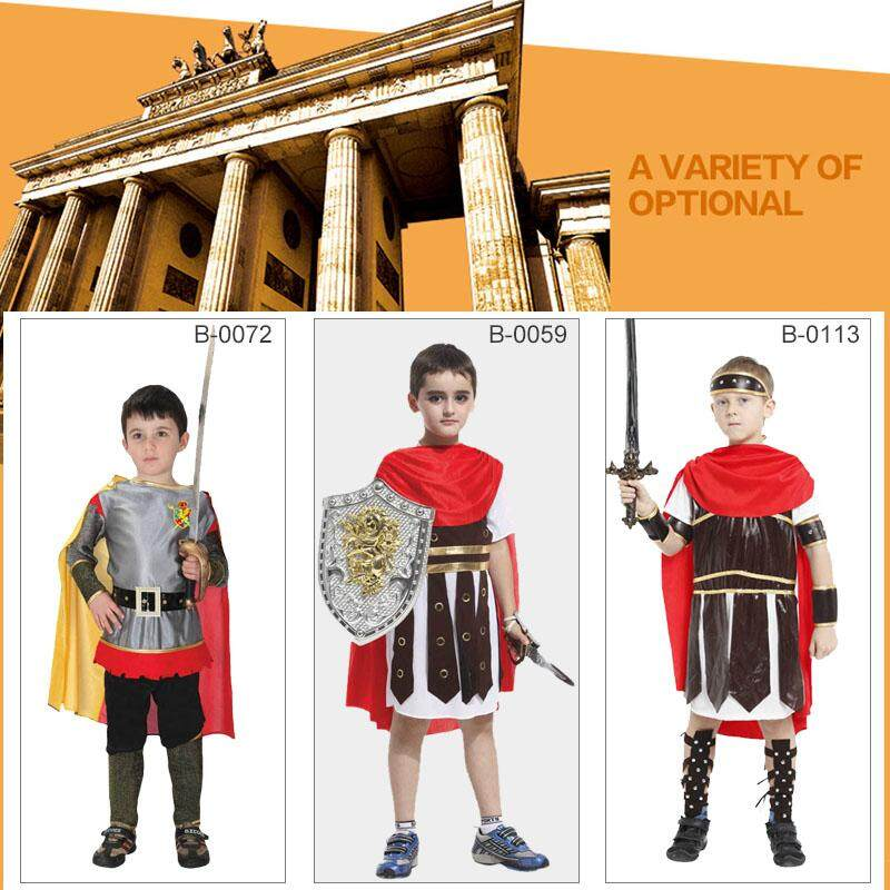 Kid Boys Fancy Dress Up Costume Roman Musketeer Egyptian Napoleon Knight Cosplay By Bigmall2019.