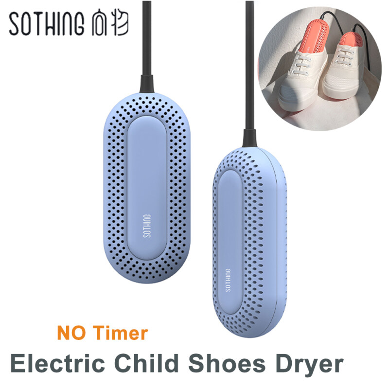Sothing Children Shoes Dryer Portable 50-60°C Constant Temperature Pretection Electric Sterilization Shoe Dryer 3 Mode Timing Selection With Fire Retardant Material Drying Deodorization Mini Disinfecting Shoes Drying Devices For Kids