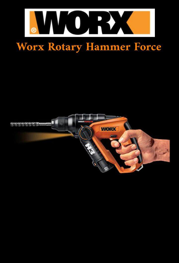 Worx Rotary Hammer Force H3