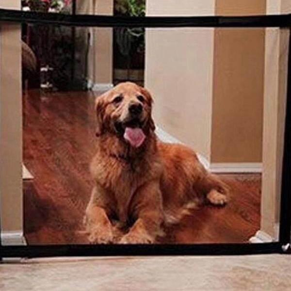 Hàng Rào Chó Bán Chạy 2018 Cổng Ma Thuật Gấp Tiện Lợi Dụng Cụ Bảo Vệ An Toàn Cho Thú Cưng Chó Mèo Gạc Cách Ly Cửa Nhà Pet Mạng Cách Ly