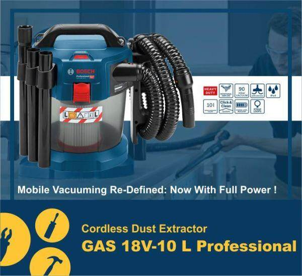 Cordless Dust Extractor GAS 18V-10 L Professional ( SOLO )