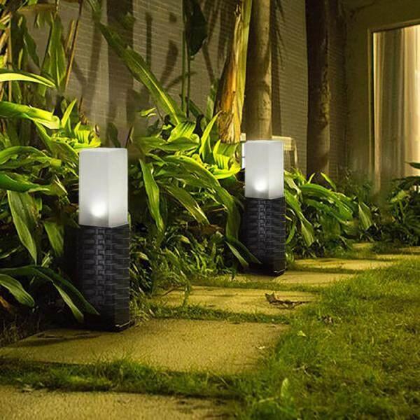 1 Chiếc Đèn Sân Vườn Năng Lượng Mặt Trời Ngoài Trời, Đèn Cỏ Mây Nhựa Năng Lượng Mặt Trời Đèn Trang Trí Để Chiếu Sáng Sân Vườn Ngoài Trời