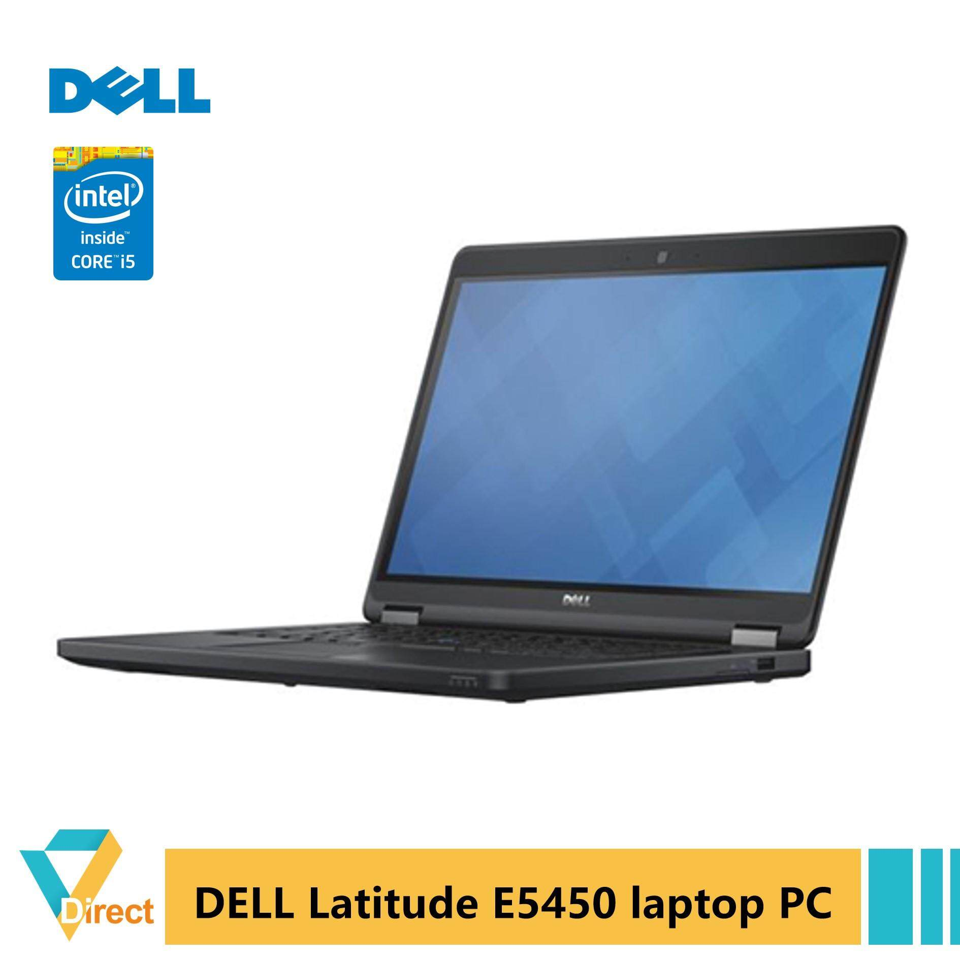 5th GEN Core i5 8GB RAM 240GB SSD Dell 14 5000 series Latitude E5450 laptop PC Ultrabook - FULLY refurbished Vs Acer Asus HP Lenovo Malaysia