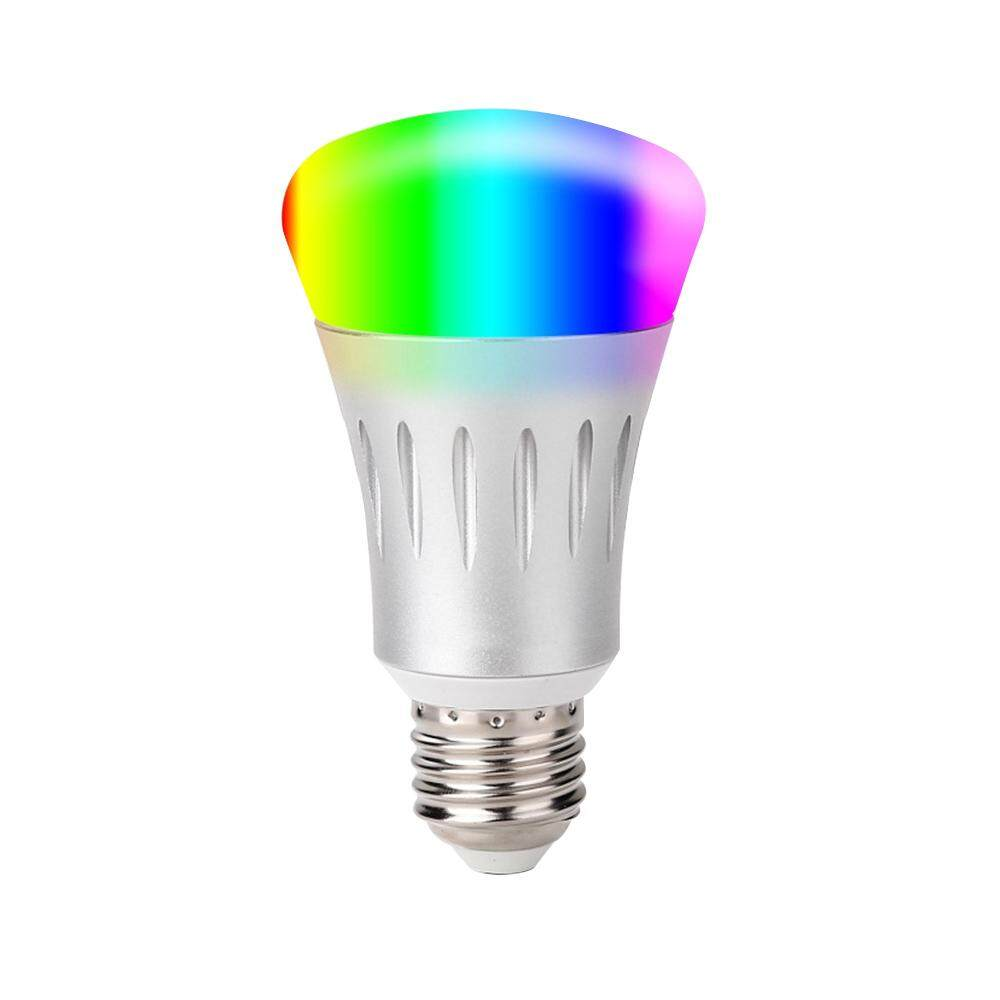 V1-S Smart WIFI LE-D Bulb RGB+W LE-D Bulb 11W E27 Dimmable Light Phone Remote Control Group Control Compatible with Alexa Googl-e Home Tmall Genie Voice Control Light Bulb