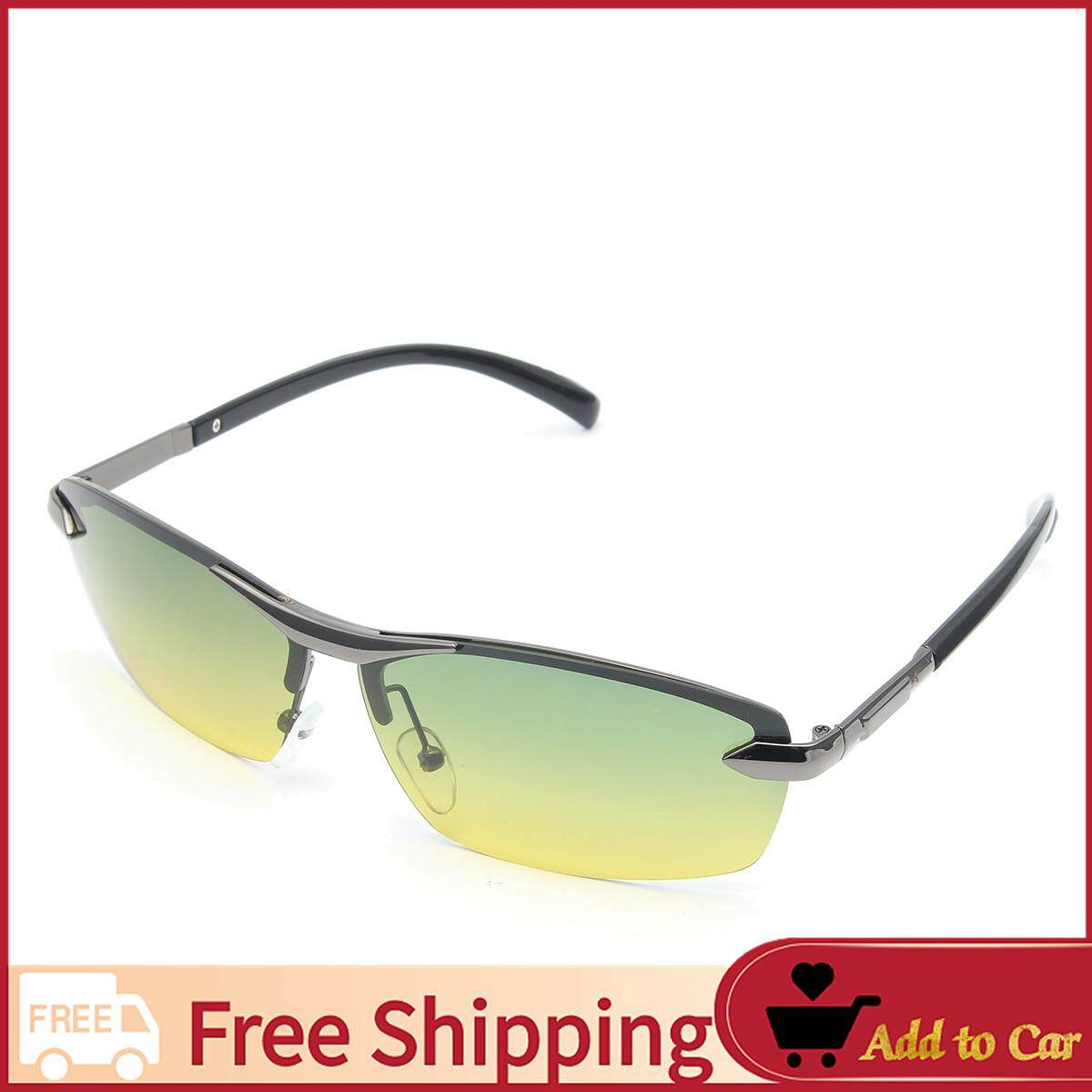6aa92f145247 【Free Shipping】Day Night Vision Men's Polarized Sunglasses Driving Pilot  Mirror Sun Glasses