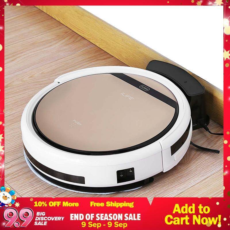 ILIFE V5S Pro Smart Robotic Vacuum Cleaner Cordless Dry Wet Sweeping Cleaning Machine Singapore